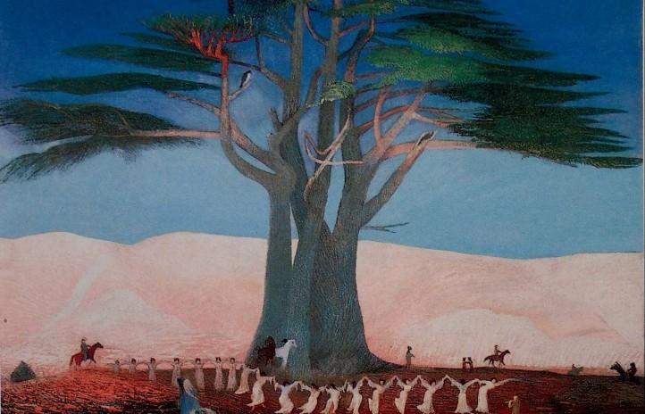 Csontváry Kosztka Tivadar: Zarándoklás a cédrusokhoz Libanonban