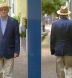 Egy úr – kalapban