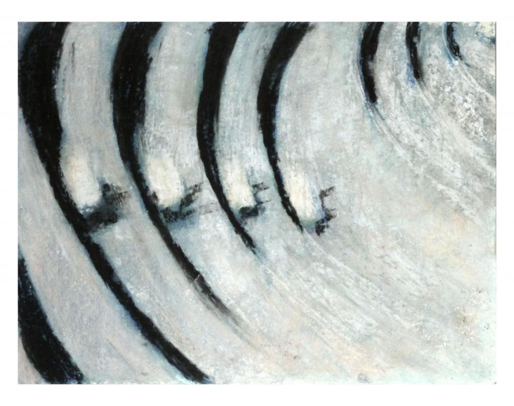 22Antik szinház,pasztell,karton,38x50 cm, 2014