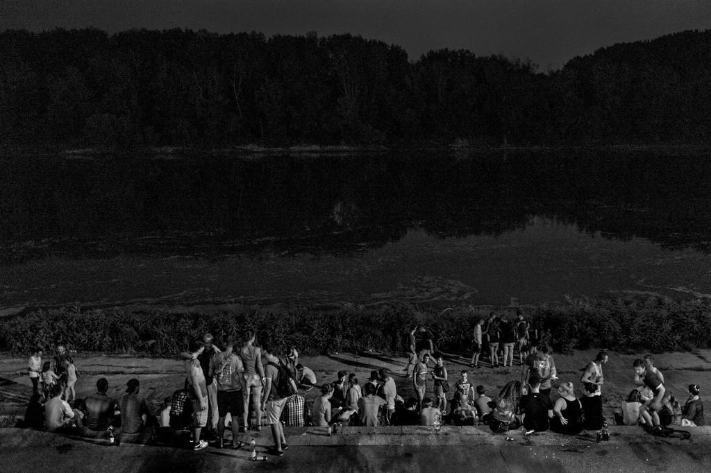 """FEJER_GABOR©, """"Tiszapart diákokkal"""", Szeged 2015"""