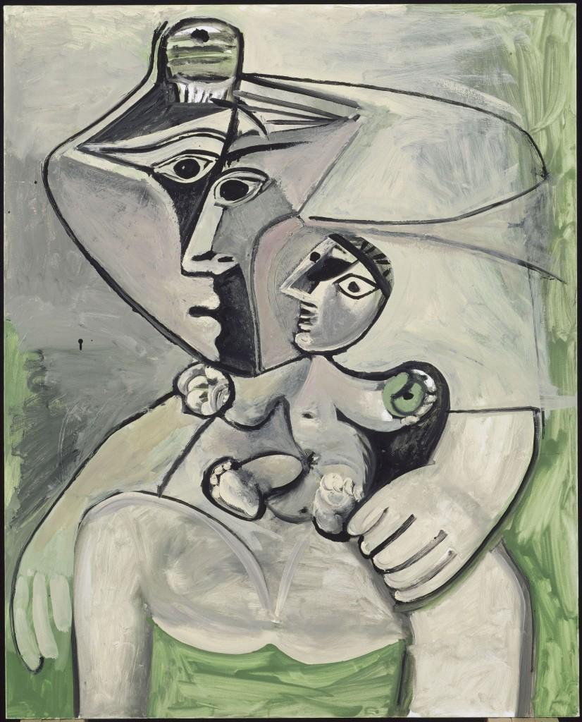 Pablo Picasso _Anyaság 1971