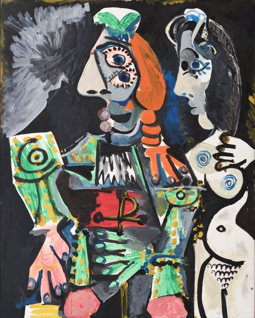 Pablo Picasso_Matador meztelen nővel 1970