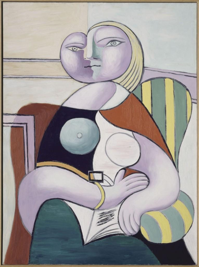 Pablo Picasso_Olvasó nő 1932