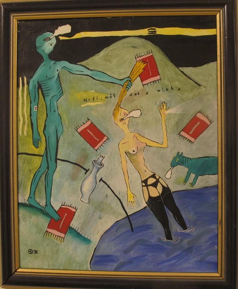 Ffi nőt dobál a vizbe -1954