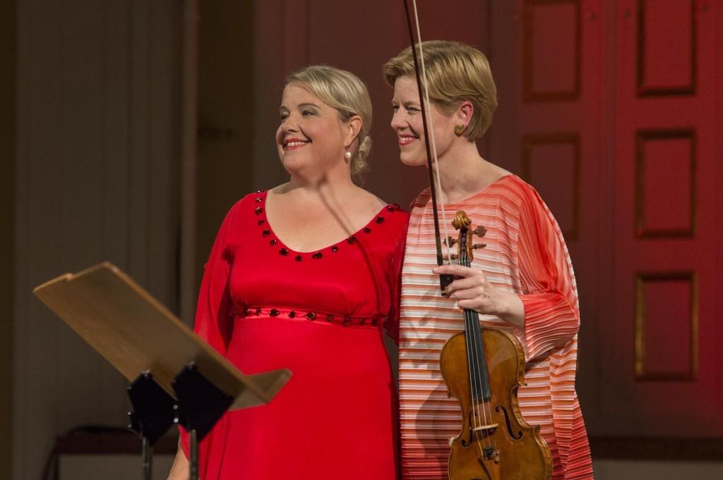 KAMMERKONZERT • ANU KOMSI – ISABELLE FAUST Anu Komsi, Sopran Isabelle Faust, Violine