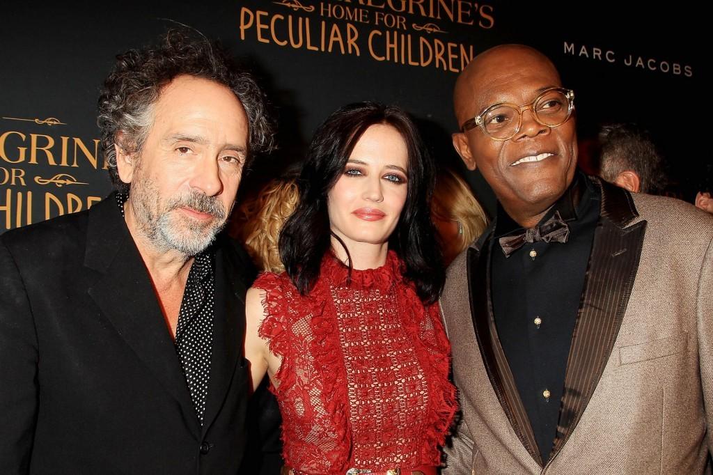 Tim Burton, Eva Green, Samuel L. Jackson Fotó20 Century Fox
