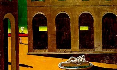 Giorgio de Chirico a lendvai várban