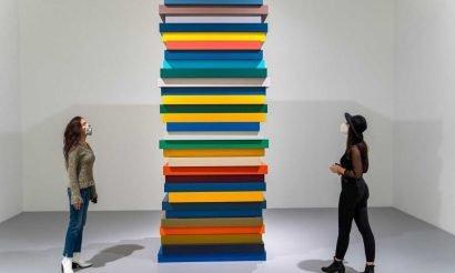 Sean Scully-kiállítás a Galériában
